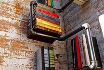 Estanterías / Estanterías, librerías y en general, ideas originales para almacenar cosas en casa