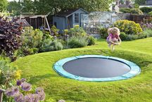 Renee inground trampoline
