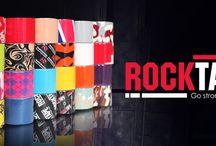 Rocktape Kinesiology Tape / Kinesiology Tapes Knee caps Gloves Shin Gards