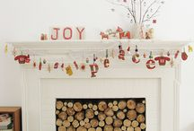 Let's decorate the fireplace this Christmas woohoo!