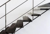 Manser Staircases / A collection of #staircases by The Manser Practice Architects  #modern #stair #cases #spiral #steel #glass #curvy www.manser.co.uk