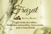 Freiziet / Freiziet is our Seyval Blanc wine that is a light body dry white. It embodies minerality, citrus notes, and a clean finish.