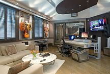 Music studio / by Cathy Griffin