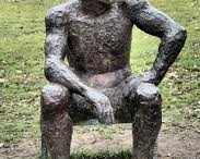 Elisabeth Frink / Dame Elisabeth Frink was born in Thurlow, Suffolk, in 1930. She studied at Guildford School of Art (1947-49) and Chelsea School of Art, London (1949-53) under Bernard Meadows and Willi Soukop. She taught at Chelsea School of Art (1953-61), St Martin's School of Art (1954-62) and was visiting lecturer at the Royal College of Art (1965-67).