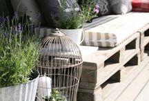 Oleskelua ulkona - Stay out / Terassin, pation ja verannan sisustamista