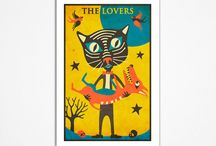 Tarot cards art / by Sue Godfrey