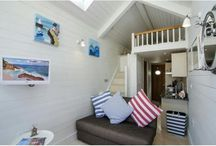 Beach huts / A selection of some of our cute beach huts. Perfect to store your bucket and spade, enjoy a cup of tea, and watch the boats go sailing by #travel #holiday #UK