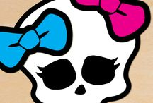 Party Printables / Monster high skill