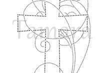 wielkanoc haft matematyczny