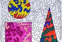 Art lesson ideas / by Stacia McCann