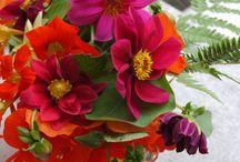 Flowers for Inga / Hier werden alle Stäuße die im Gedanken an Inga Lorig vom Blog Glomerylane entstanden sind