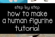 Tutorial Fondant and Clay Figurine