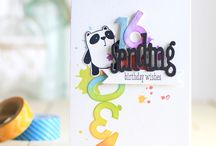 Cards - Rainbows and Rainbow Colors / Get inspired with rainbow colors on cards!