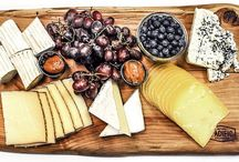 Cheese & Charcuterie / There is nothing I love more than a meal on a wooden board...especially if it involves cheese and charcuterie!
