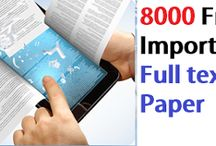 8000 Free Important Full Text Paper