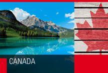 Canada / Sorprendetemente vasto, si estende dall'Atlantico al Pacifico e a nord si spinge fino all'Artico.