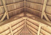 Oak frame bespoke / Eikenhouten opbouwspanten - ambachtelijk en traditioneel