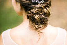 Wedding Hairdo and Accessories