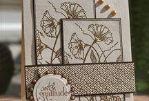 card ideas / by CindyLeeBeeDesigns