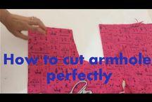 sewing cutting