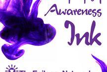 #EpilepsyAwarenessInk  / Tattoos dedicated and devoted for Epilepsy and Epilepsy Awareness