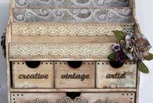 Ideias para a casa / Um pouquinho de cada coisa do artesanato para ver e fazer!! / by carmen cinira carvalho