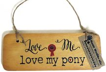 Equestrian Signs / Fun range of equestrian signs for horse riders! Available at www.thehorsediva.co.uk