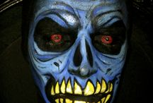 Face Painting by Claudia Lucia  / Halloween face painting