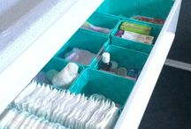 Organize dresser drawers