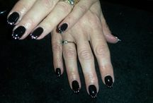 Nails @ Jewels Not Tools By Kelly / Follow on Facebook Jewels Not Tools By Kelly CND Grand Master Artist