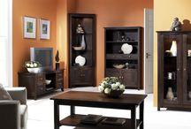 Interiores naranjas / Pintura y decoración de interiores en tonos naranjas y terracota