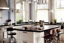 Kitchens / Not every kitchen has something to say design-wise, but all of the ones I favor do.