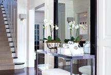 Home Decor: Black, White, Greys / by Leilani Decena Shepherd