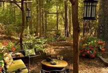 Secret Garden / Ideas for the wild garden