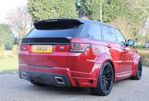 Meduza RS-700 Range Rover Sport Body Kit / Range Rover Sport L494 Body Kits manufactured in the UK built and supplied by Meduza.