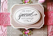 Cards by Anna Griffin & Co / Card