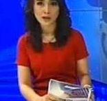 News Anchor on MNCTV