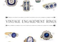 Vintage δαχτυλίδια