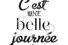 Citations / quotes / Citations en français