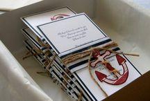 Invitaciones Sailor