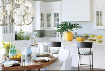 HOME | Kitchen Love / I could tour beautiful kitchens all day long, so...that's what this pinboard is for!
