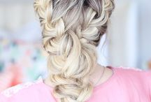 hairstyle, coiffure