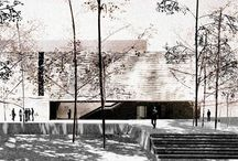 ArchiWhatWhat / Architecture precedent study on architectural render styles.