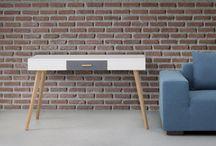 Werkkamer / Het Nieuwe Werken vraagt om een Een Nieuwe Inrichting. Hier vind je #inspiratie voor een #moderne en #stijlvolle werkplek. Naast elke inspiratiefoto staan onze betaalbare meubels om deze look zelf te creëren!