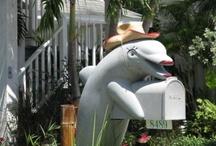 Mailboxes on Treasure Island Florida