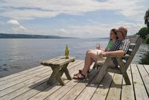 Guests on the Dock / by The Pearl of Seneca Lake Bed and Breakfast