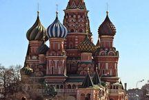 Soğan kubbeler / Moskova