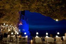 Italie : grotte du palais