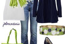 outfits i like / by Jennifer Davenport