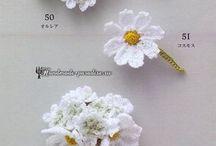 Kwiaty szydełkowe